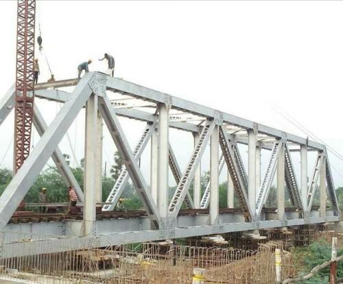 Open web girder fabrication