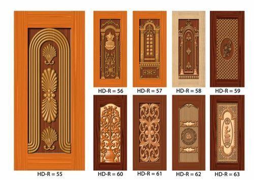 3D PVC Membrane Door Skin Prints