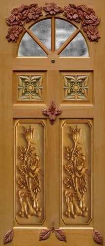 Membrane Decorative 3D Carving Door Skin