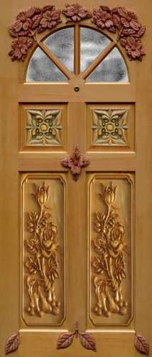 Membrane Decorative 3D Carving Door Skin