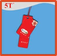 Red Clothing Hang Tags
