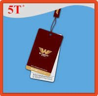 Paper Hang Tags for Men Garments