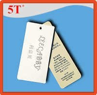 Women Clothing hang tag