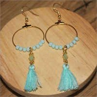 Tassel Long Earings