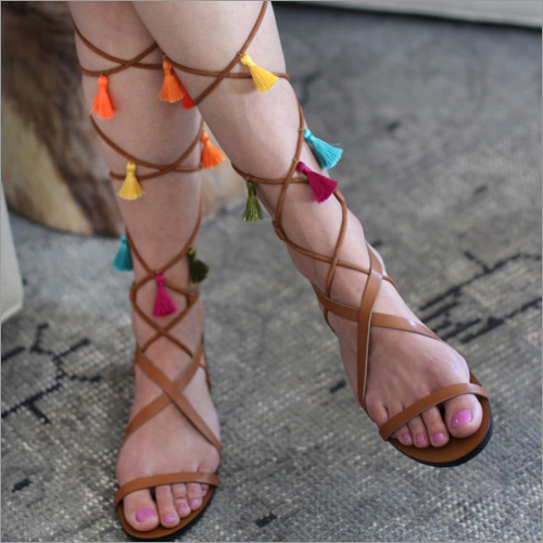 Embroiderd Party Wear Sandals