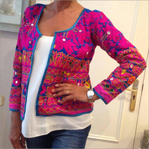 Hand Embroidery Jacket
