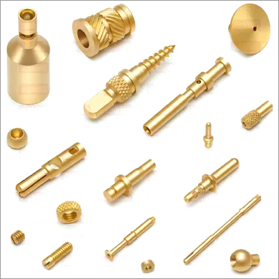 Brass Micro Turned Components