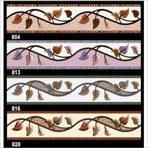 Printed Border Tiles