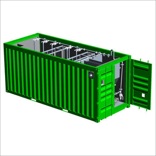 Containerized Sewage Treatment Plant