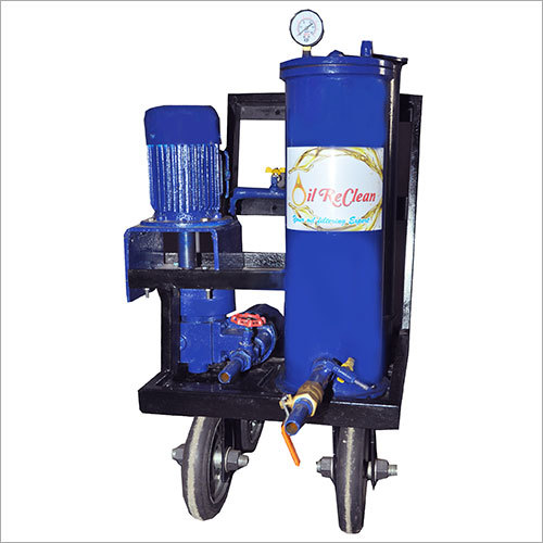Mechanical Oil Filtration Machine