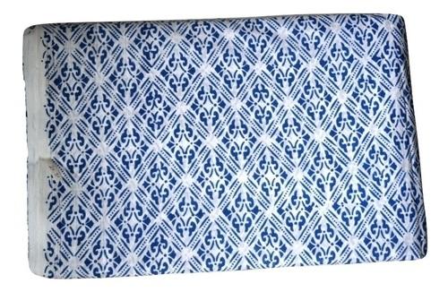 Hand Block Printed Cotton Jalpuri Fabric