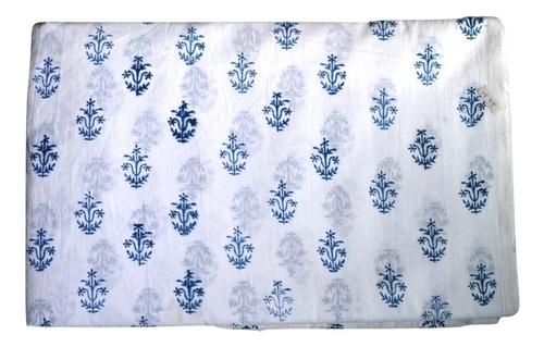 Hand Block Printed Cotton Jaipuri Fabric