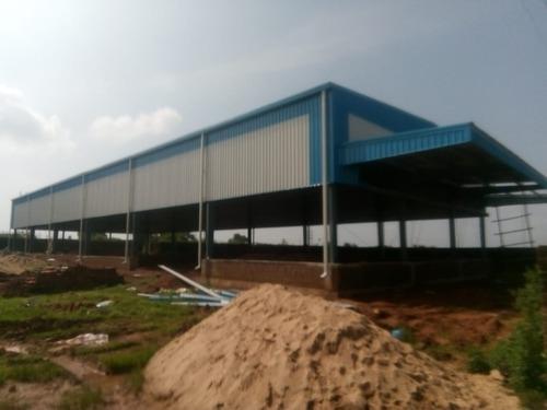 Prefabricated Dairy Farm Fabrication Service