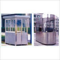 Stainless Steel Security Booth