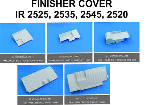 IR 2525 , 2535, 2545, 2520 FINISHER COVER