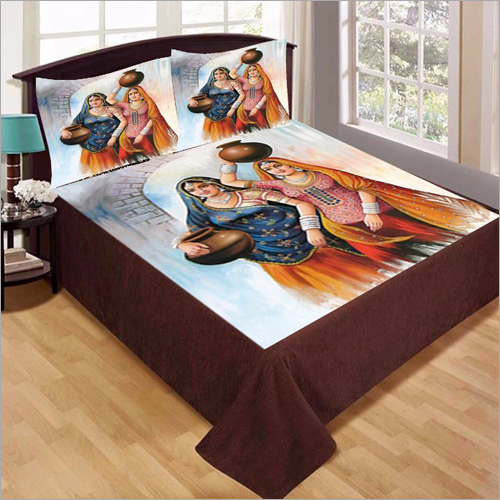 Digital Printed Bed Sheet Fabric