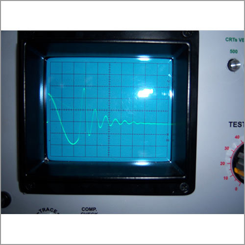 Wave form on Surge Comparison Tester