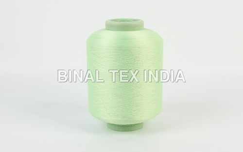 WHITE ELASTIC COVERED THREAD