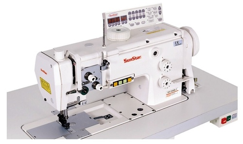 High Speed Needles, Unison Feed, Lock Stitch Sewing Machine with Horizontal Large Hook