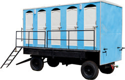 Mobile Toilet Van Ten Seater
