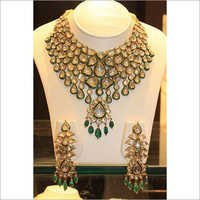 Royal Polki Gold Necklace