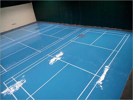 Badminton Court Epoxy Flooring
