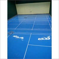 Epoxy Flooring System for Badminton Court