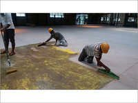 Primer Application for Epoxy Flooring system