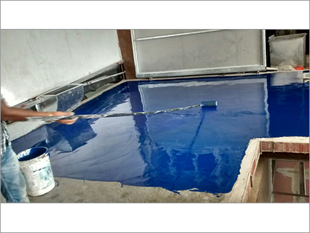 Application of Epoxy Top Coat
