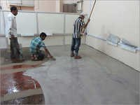 Application of Epoxy Base Coat