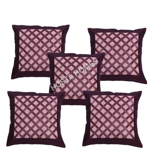Designer Crochet Cushion Cover