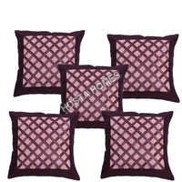 Designer Crochet Cushion Cover