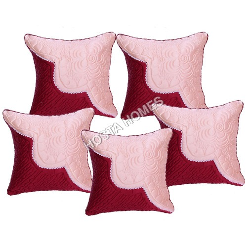 Cotton Crochet Design Cushion Cover