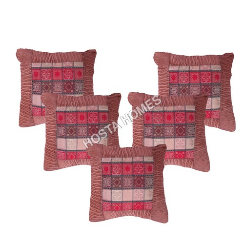 Flower Design Cushion Cover