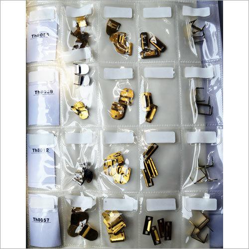 Brass Hooks & Eyes