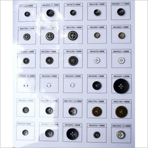 Metal Sew Buttons