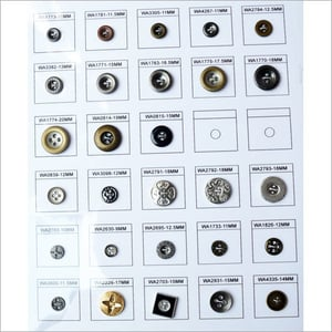 Metal Sewing Snap Button