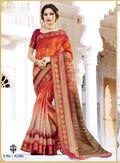Multicolor Designer Sarees
