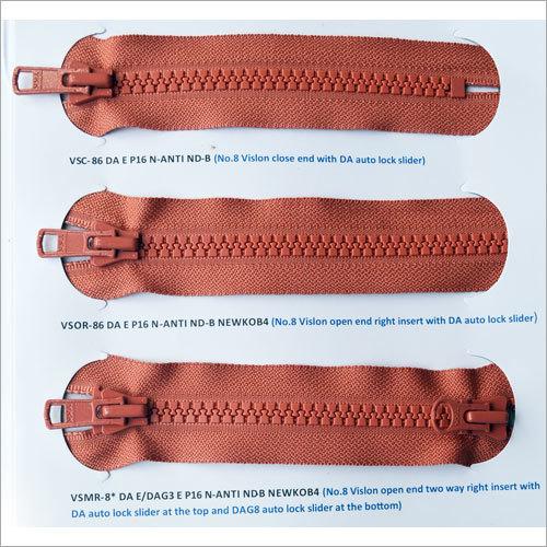 Custom Metal Zipper Auto Lock Slider