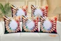 Indigo Printed Cushion Covers