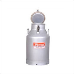 Aluminium Lockable Milk Cans