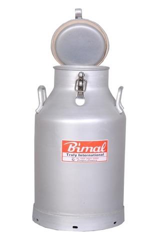 Aluminium Lockable Milk Cans