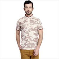 Men's Polo Printed T-Shirt