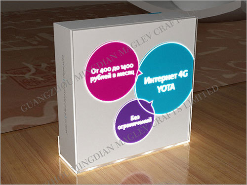 Acrylic Boxes with Leds