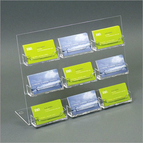 Multi Pocket Business Cards Holder