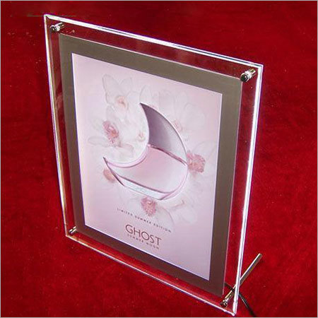 Acrylic Certificate Stand