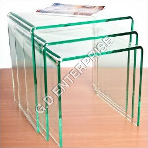 Set of Acrylic Tables