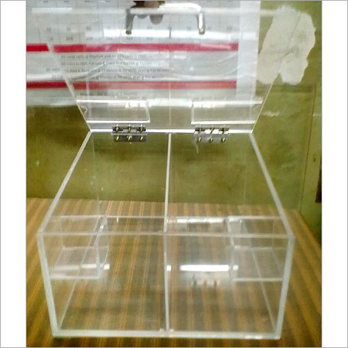 Acrylic Dry Fruit Display Box
