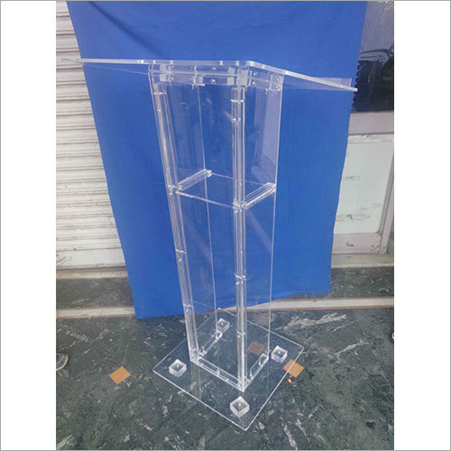 Clear Acrylic Lectern Stand
