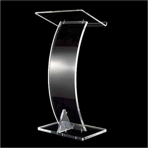 Acrylic Lectern Stand
